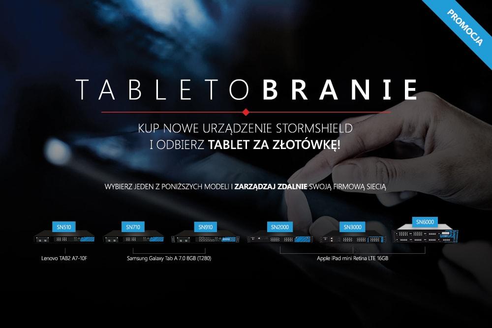 Promocja Stormshield - Wielkie Tabletobranie